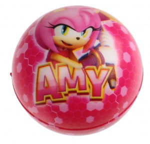 Kamparo hüpfball Sonic Boom Junior 6 cm rosa