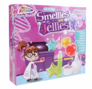 Grafix Smellies and Jellies experimenteerset 11-delig-S