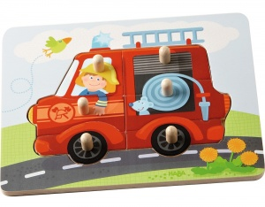 Haba puzzle fire brigade 6 pieces