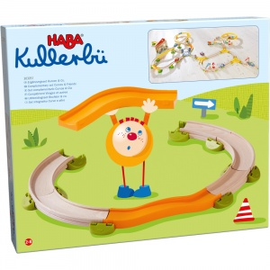 Haba Kullerbü marble track extension set Curves & Co 14-piece