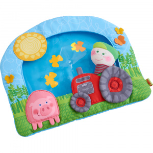 Haba water play mat Farm junior 34,5 cm polyester blue