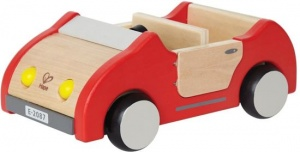 Hape Wooden dollhouse car 22.5 cm red