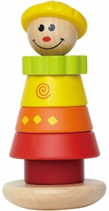 Hape Stacking Jill stack figure 17 cm