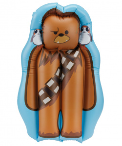 Happy People bateau gonflable Star Wars Wookie65 x 40 cm bleu