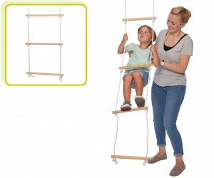 Happy People wooden rope ladder 200 x 30 cm