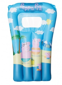 Happy People luchtbed Peppa Pig 67 x 43 cm blauw