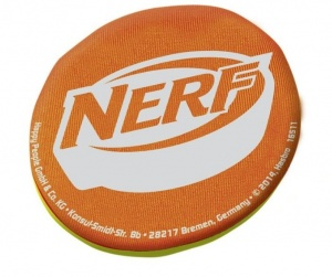 Happy People NERF Sports waterstuiterbal 8 cm oranje/groen