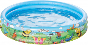 Happy People inflatable pool 122 x 25 cm blue