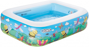 Happy People inflatable pool 132 x 94 x 36 cm blue