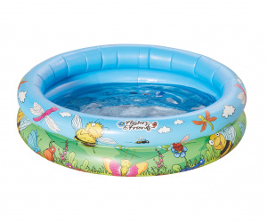 Happy People piscine gonflable Baby 74 x 18 cm bleu