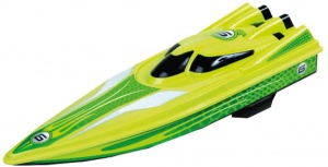 Happy People RC speedboat racer 2,4 ghz 38 cm groen