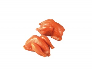 Happy People toy food rôti de poulet 2 pcs 9 cm