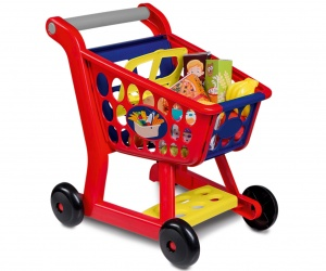 Happy People Shopping trolley with fruit and vegetables 14-piece