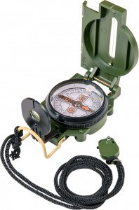 Happy People pocket compass Scout junior 55 x 70 mm green steel