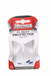 Harrows Darts Flight Protector Aluminium Per 3 Stuks Blauw