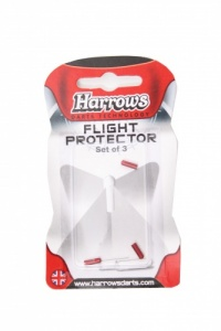 Harrows Flight Protector Aluminum Per 3 Pieces Red