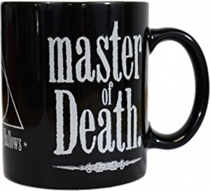 GB Eye heat mug Harry Potter and the Deathly Hallows black 300 ml
