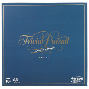 Hasbro Gaming Trivial Pursuit Classic 50,8 cm carton (BE) 5 pièces
