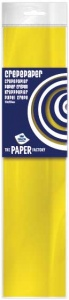 Haza Original krepppapier The Paper Factory250 cm gelb