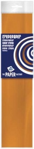 Haza Original krepppapier The Paper Factory250 cm orange