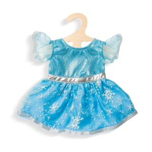 Heless doll dress ice princess blue 28-35 cm