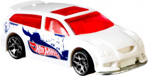 Hot Wheels auto Colour Shifters7 cm Stahl weiß/rot (FPC-51)