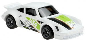 Hot Wheels auto Porsche 934 Turbo RSR jongens 6,8 cm wit/groen