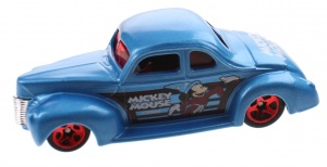 Hot wheels Disney '40 Ford Coupe 7 cm blauw (GDG88)
