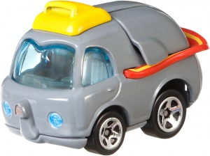 Hot Wheels Disney auto Dumbo 5,5 cm grijs