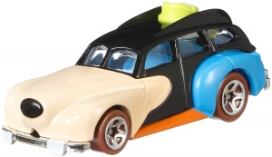 Hot Wheels Disney auto Goofy 7 cm zwart/beige