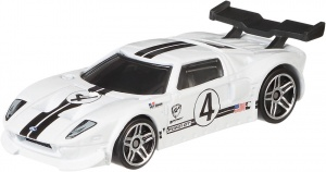 Hot Wheels Gran Turismo Ford GT wit 7 cm