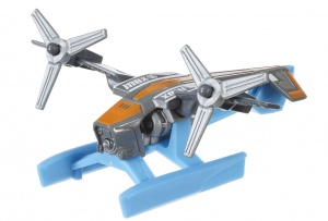 Hot Wheels Helikopter grijs 7 cm