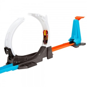 Hot Wheels lanceerbaan Track Builder Blast Off Challenge