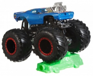 Hot Wheels monstertruck Rodger Dodger 9 cm blauw