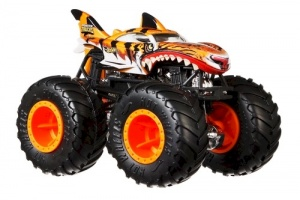 Hot Wheels monstertruck Tiger Shark 1:64 oranje (GNJ61)