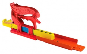 Hot Wheels pocket launcher boys 3-piece red