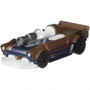 Hot Wheels Star Wars serie Han Solo 7 cm bruin