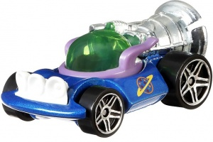 Hot Wheels Toy Story auto Alien 5,8 cm blauw