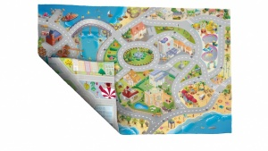 House of Kids Speelkleed Sea Side Road/City Road 100 x 150 cm