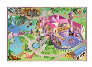 House of Kids Speelkleed City/Princess 100 x 150 cm
