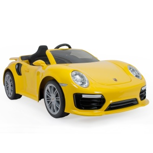 Injusa battery vehicle Porsche 911 Turbo S iMove 6V 132 cm yellow