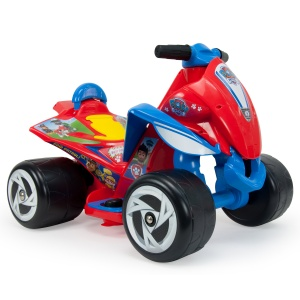 Injusa battery vehicle quad Paw Patrol 6V 65 cm red / blue