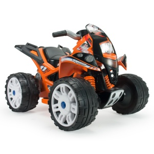 Injusa battery vehicle quad The Beast 6V 78 cm orange