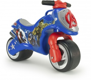 Injusa loopmotor Neox Avengers 69 cm blauw/rood