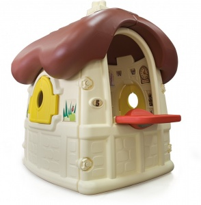 Injusa play house Chocolat Cottage cream / brown 150 cm