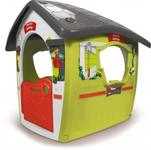 Injusa playhouse Forest Ranger House green / gray 117 cm