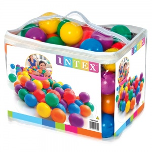 Intex ball pit balls 100 6,5 cm pieces