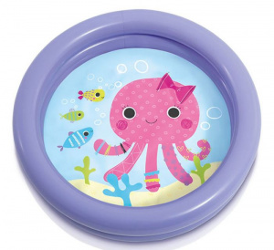 Intex aufblasbarer Pool Octopus junior 61 x 15 cm Vinyl violett
