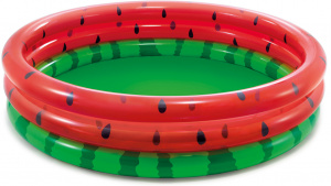 Intex aufblasbare Pool-Wassermelone Junior 168 x 38 cm Vinylgrün