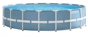 Intex Prism Frame ground pool with accessories 549 x 122 cm